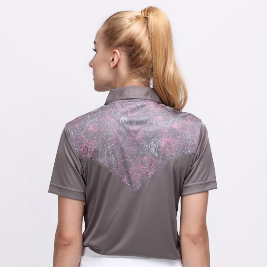 BATIK BOTANICAL POLO TITANIUM (WOMEN) 3