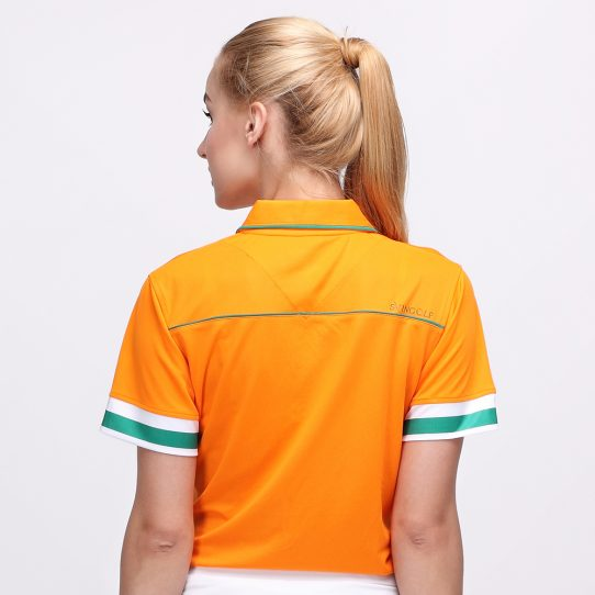 EDD POLO MANDARIN ORANGE (WOMEN) 3