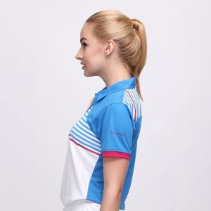 FORGET POLO DUSK BLUE PINK (WOMEN) 2