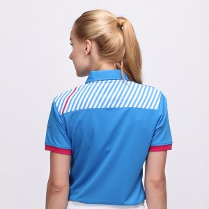FORGET POLO DUSK BLUE PINK (WOMEN) 3