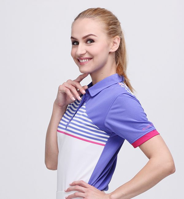FORGET POLO VIOLET PINK (WOMEN) 2