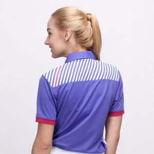 FORGET POLO VIOLET PINK (WOMEN) 3