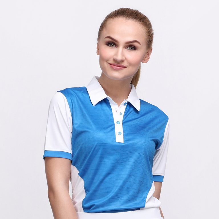 IRON POLO DUSK BLUE (WOMEN) 1