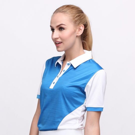 IRON POLO DUSK BLUE (WOMEN) 2