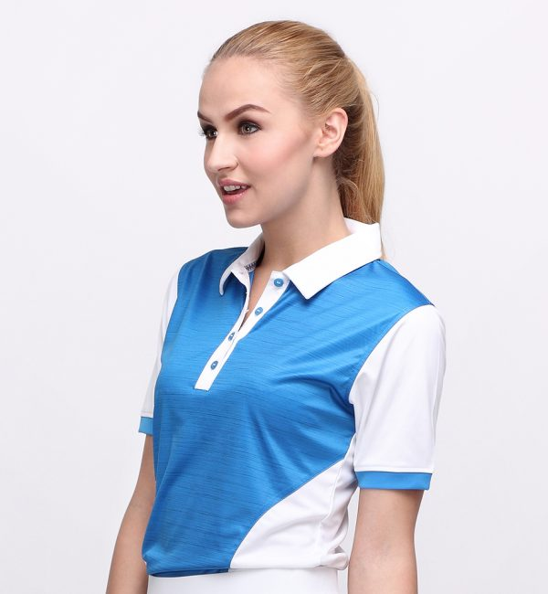IRON POLO DUSK BLUE (WOMEN) 2