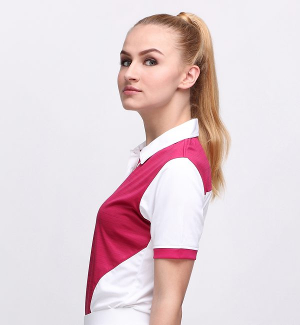 IRON POLO MAGENTA (WOMEN) 2