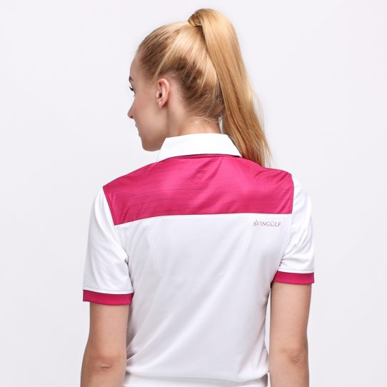 IRON POLO MAGENTA (WOMEN) 3