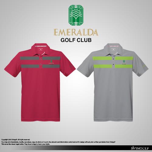 Layout Corporate Emeralda Golf Club 2016