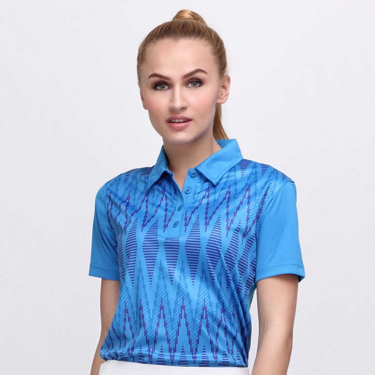 TENUN POLO DUSK BLUE (WOMEN) 1