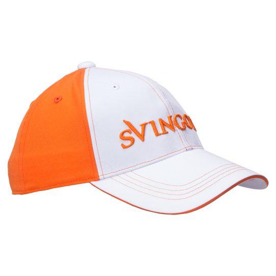 Tour Cap White Orange