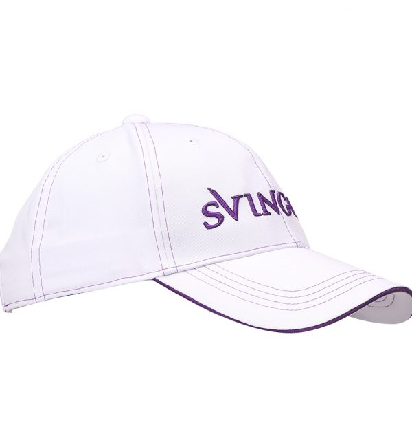 Tour Cap White Violet