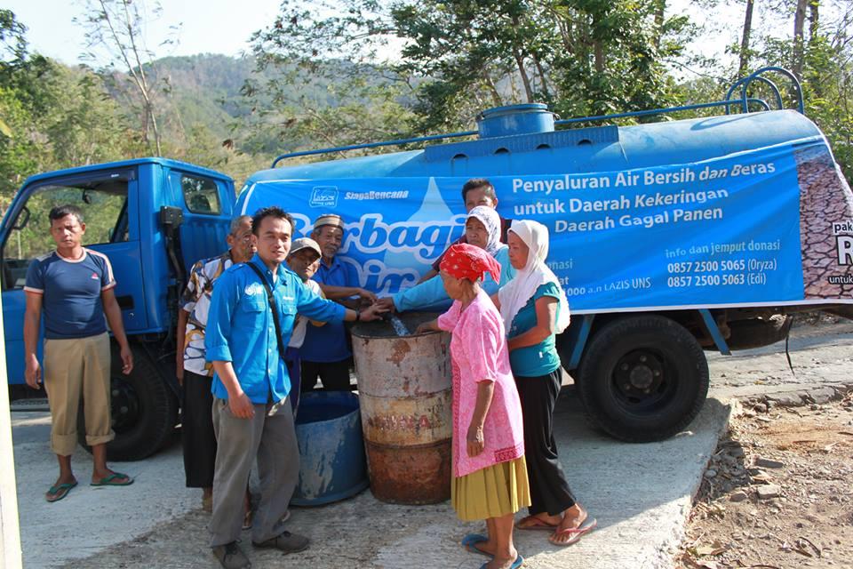 habitat berbagi air bersih