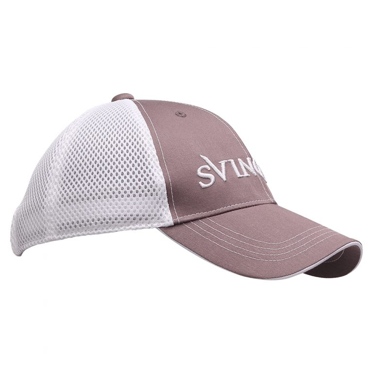 mesh Cap Grey White