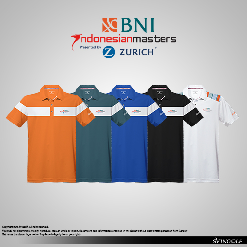 svingolf apparel for indonesian masters 2016