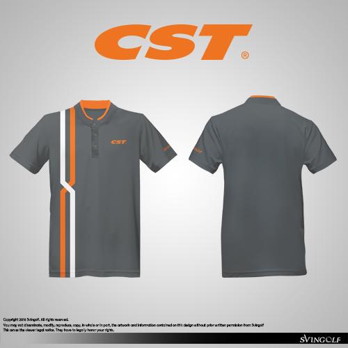 CST Golf Apparel Shirt Polo Custom Polo