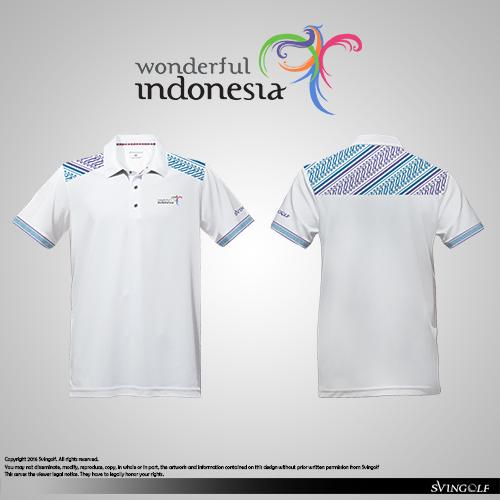 Wonderful Indonesia Golf Polo
