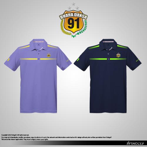 bharadaksa 91 golf polo shirt