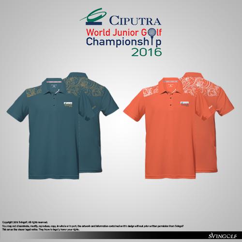 Ciputra WJGC 2016 Golf Polo Apparel