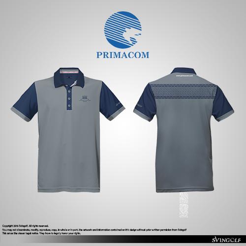 Primacom Toraja Polo Golf Apparel Shirt