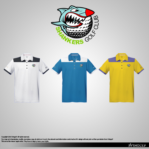 Shankers Golf Community Golf Apparel Shirt Polo