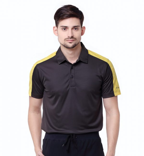 Lombok-Polo-Black-Yellow-Sunflower-02