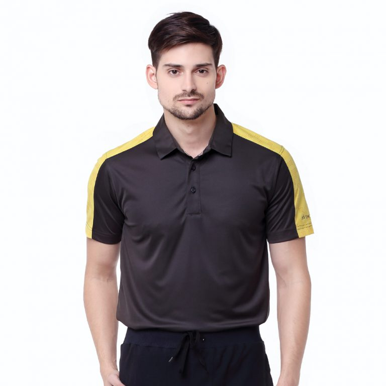 Lombok-Polo-Black-Yellow-Sunflower-02