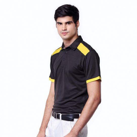 Pottery-Polo-Charcoal-Black-Yellow-Sunflower-03