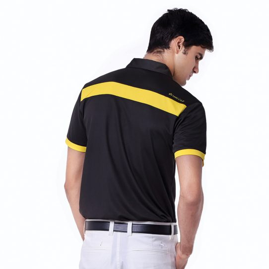 Pottery-Polo-Charcoal-Black-Yellow-Sunflower-04