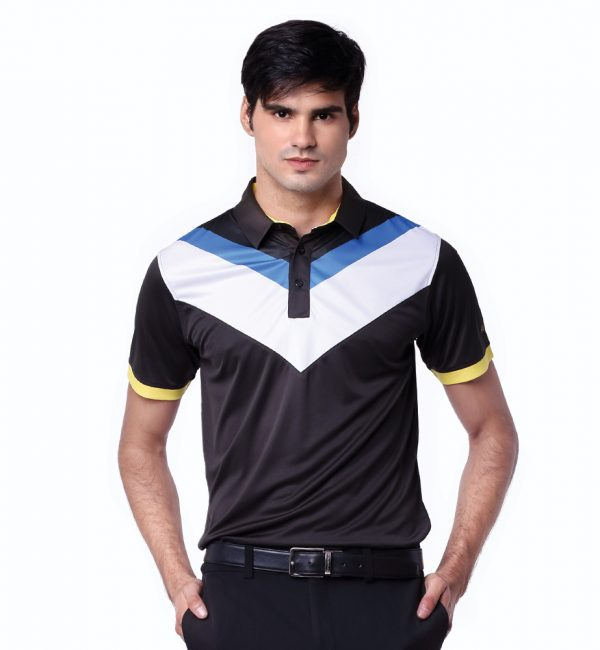 Voltron-Polo-Black-Yellow-Sunflower-02