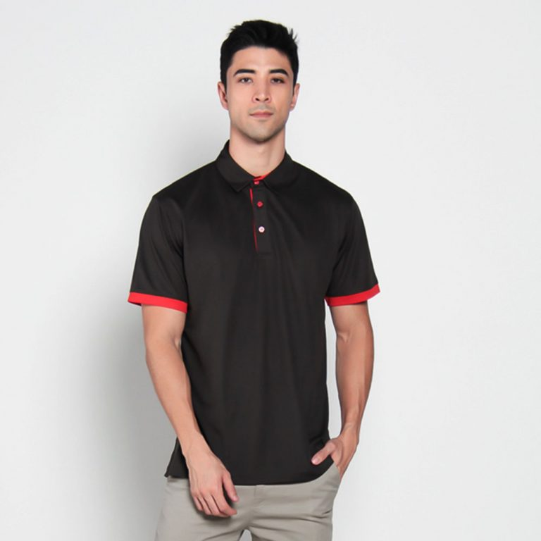 GRID POLO – BLACK-1