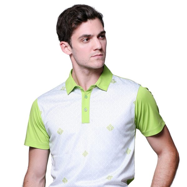 TALAWANG-POLO-White_LimeGreen-Front