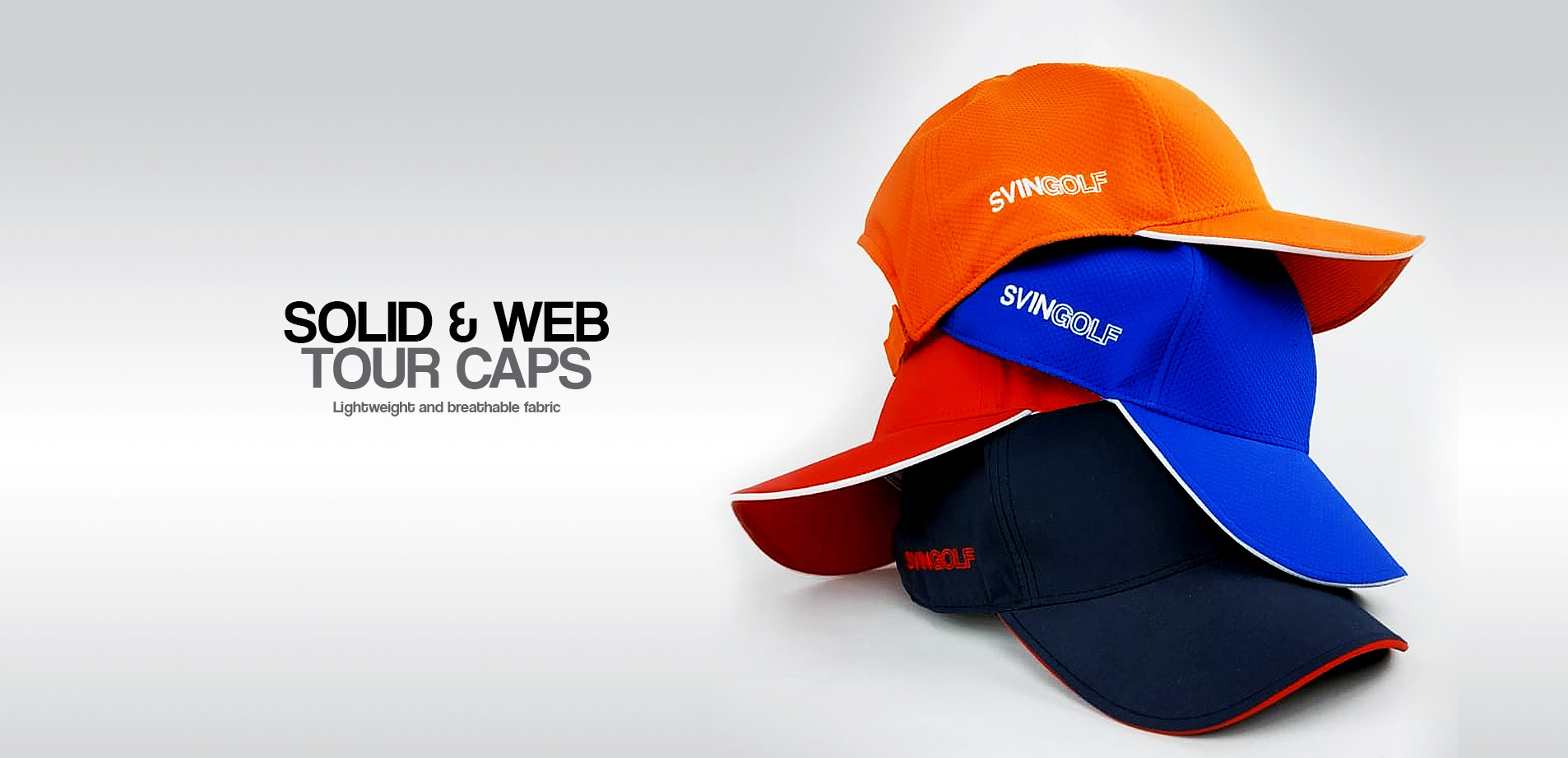 SOLID & WEB TOUR CAPS
