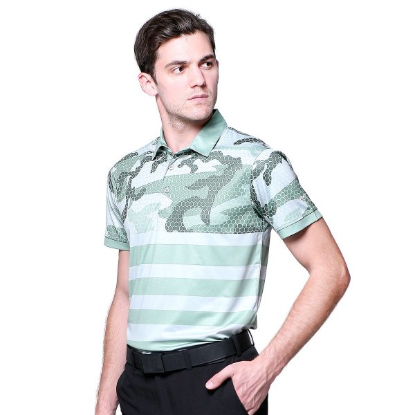 OCTAGON-POLO-OliveGreen-Front