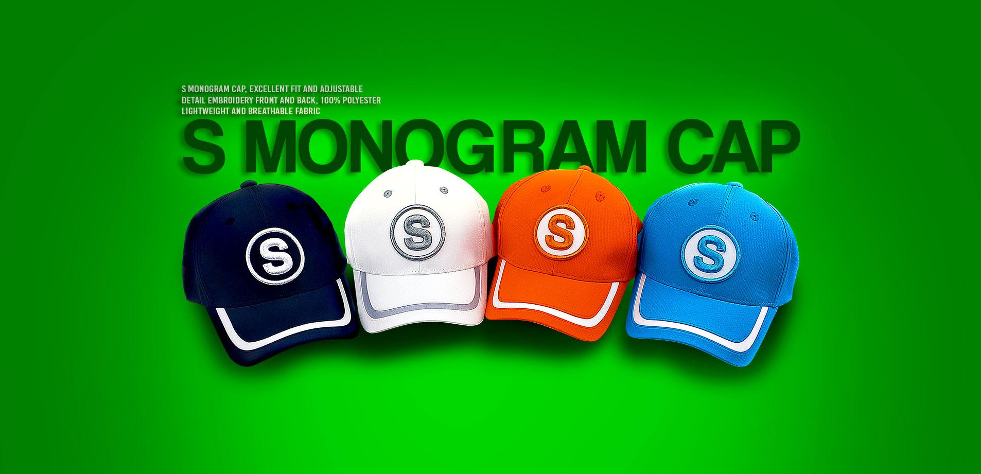 S Monogram Cap
